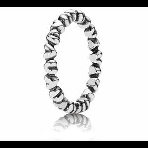 PANDOR hearts ring